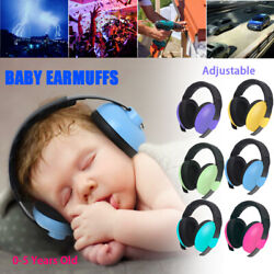 Baby Earmuffs Ear Hearing Protection Noise Cancelling Headphones Kids Infant
