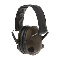 Electronic Ear Muffs Gun Shooting Hearing Noise Protection Range Muff Headphone