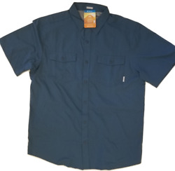 Columbia Men's Wicking Short Sleeve Omni Shirt. (Whale BlueL)
