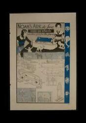 Noah's Ark & Animals 1933 HowTo build PLANS Wooden Toy
