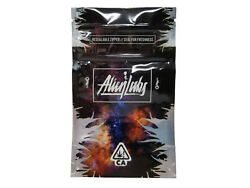 Alien Labs - Resealable Zipper - Seal For Freshness Pouches - 50pcs per Pack