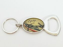Bell Boeing CV 22 Osprey Helicopter Keychain with Bottle Opener Military $10.19
