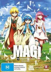 Magi - The Labyrinth Of Magic : Collection 1 : Eps 1-12 - DVD Region 4 Free Ship