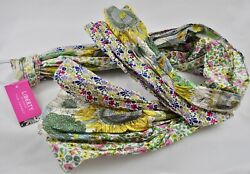 Liberty of London for Target Floral Crinkle Scarf Susanna Sunflower Pink Poppy