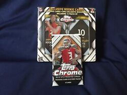 2015 Topps Chrome Football Pack