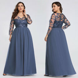 US Ever-Pretty Plus Size Long Evening Prom Gowns Formal Celebrity Party Dresses $49.99