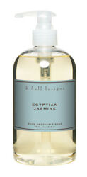 k hall design Egyptian Jasmine Liquid Hand Soap Exotic Natural Clean Scent