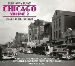 Various Artists - Down Home Blues: Sweet Home Chicago Vol 2  Various [New CD] B