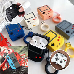 AirPods Silicone Case Cute 3D Switch Gameboy Cover Skin For AirPod Charging Case $9.99
