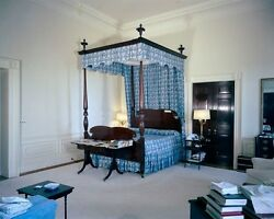 President John F. Kennedy#x27;s bedroom in the White House 1962 New 8x10 Photo $7.10