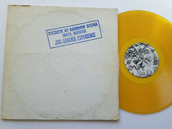 JIMI HENDRIX Incident At Rainbow Bridge Maui Hawaii - yellow vinyl