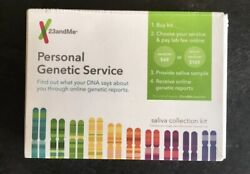 23andMe Personal Genetic Service Ancestry Family DNA Test Saliva Collection Kit
