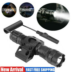 1000 Lumen Tactical Flashlight LED Rechargeable for Outdoor Hunting Shooting $18.04
