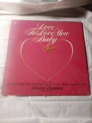 Love To Love You Baby vinyl 2 song's
