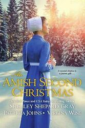Amish Second Christmas An by Shelley Shepard Gray Paperback Book Free Shipping!