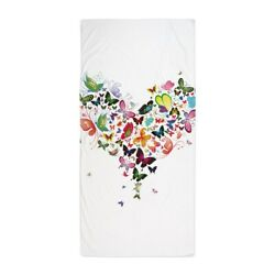 CafePress Heart Of Butterflies Beach Towel (1543628301)