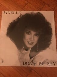 JANELLE DONT BE SHY Vinyl Album Record - MINT condition 1989