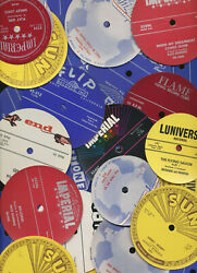 38 1950's & '60's  R&R 45rpm record labels NEVER USED $15 Sun Records  Imperial