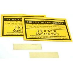 Hoover & Strong 2dwt 14K Gold Yellow Easy Repair Solder FindingKing