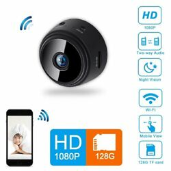 1080P Mini Spy Camera Wireless Wifi IP Home Security DVR Night Vision Remote $28.99
