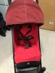 GB Qbit Plus Compact One Hand Fold Travel Stroller Red. $170.00
