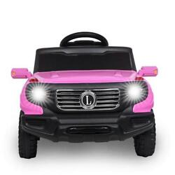 Kids Ride on Car Toys Electric Battery Power 3 Speed Mode w Remote Control Pink $106.79