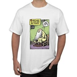 VINTAGE MR NATURAL R CRUMB MEN#x27;S SHIRT WHITE COLOR SIZES S TO 5XL $18.50
