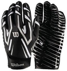 Wilson WTF9452 Clutch Skill Gloves Football Adult Various Colors Sizes $14.95