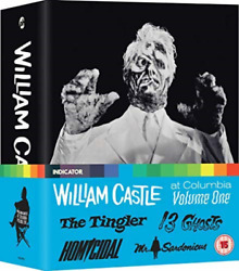William Castle At Columbia Volume One (Limited Edition) (UK IMPORT) BLU-RAY NEW