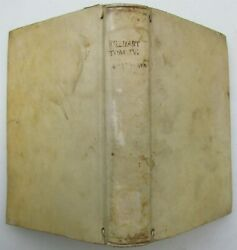 1748 VELLUM BOUND SUMMA S. THOMAE CURSUS THEOLOGICAE P 2 Vol. 1 antique in LATIN $199.99