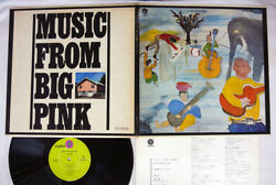 THE BAND MUSIC FROM BIG PINK CAPITOL ECP-80455 Japan VINYL LP