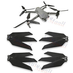 4pcs 8743F Low-Noise Carbon Fiber Propellers 3-Blade For DJI Mavic 2 Pro/Zoom $21.99