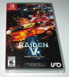 Raiden V Director's Cut for Nintendo Switch Brand New! Fast Shipping!