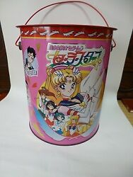 Sailor Moon Stars Can Box Set Of 3 Three Lights Star Nightlight Fighter Healer