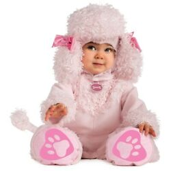 Pink Poodle Costume Baby Puppy Dog Halloween Fancy Dress $46.69