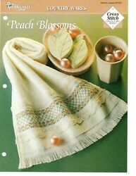 Cross Stitch Pattern Peach Blossoms Country Wares The Needlecraft Shop $0.99