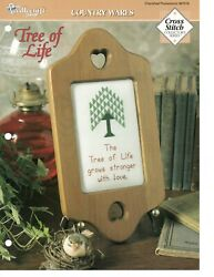 Cross Stitch Pattern Tree Of Life Country Wares The Needlecraft Shop $0.99
