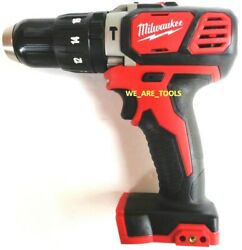 New Milwaukee M18 2607 20 Cordless 1 2quot; Compact Hammer Drill Driver 18 Volt 18V $77.97