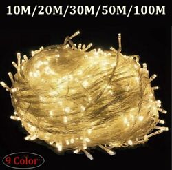 Waterproof Outdoor Home LED Fairy String Lights