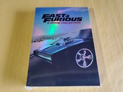 Fast and Furious: 8-Movie Collection (DVD 2017 9-Disc Set)