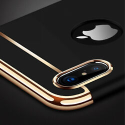For iPhone 11 Pro Max Luxury Shockproof Hybrid Electroplate Slim Hard Case Cover