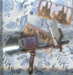 Dollhouse Victorian Style Stereoscope Viewer Cards Set 1:12 Doll House Miniature