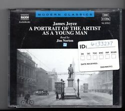 (JF604) James Joyce A Portrait Of The Artist As A Young Man - 1995 CD Set
