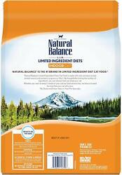Natural Balance L.I.D. Limited Ingredient Diets Dry Cat Food for Indoor Cats Gr