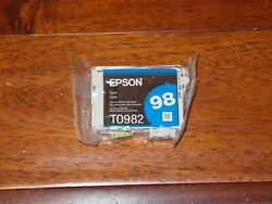 Epson 98 T0982 Cyan Ink GENUINE for Artisan 700 710 725 730 800 810 835 387 $9.95