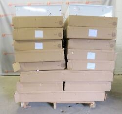 Recessed Fluorescent Commercial Lighting Lights Troffer New Lot of 34