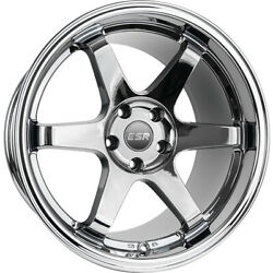 4 - 18x8.5 Black Chrome Wheel ESR SR07 5x4.5 30