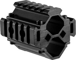 Tactical Double Shotgun Barrel Mount Tri Rail System with 5 Sections AW12012 $29.99