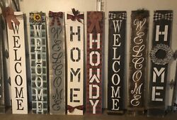 Welcome Howdy Home Signs $65.00