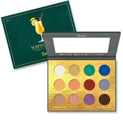 RUDE? Cocktail Party 12 Color Eyeshadow Palette Screwdriver Free Ship $17.50